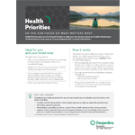 Client sheet – Health Priorities